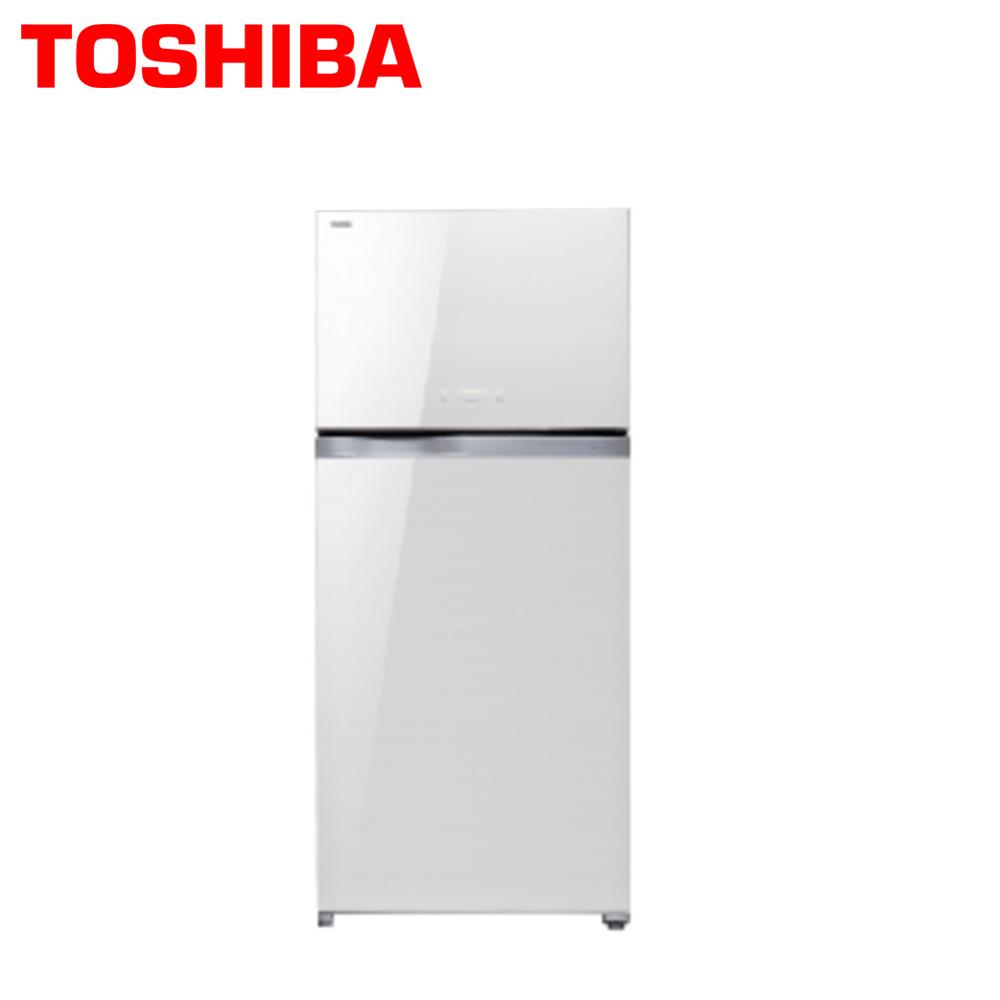 【TOSHIBA東芝】608公升玻璃鏡面變頻雙門冰箱GR-WG66TDZ(ZW)