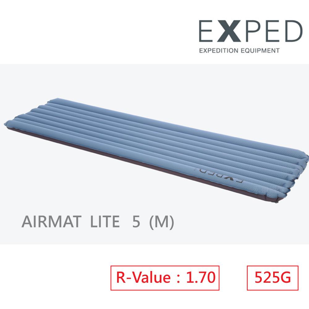 【瑞士EXPED】AIRMAT LITE 5 (M)空氣吹氣式睡墊