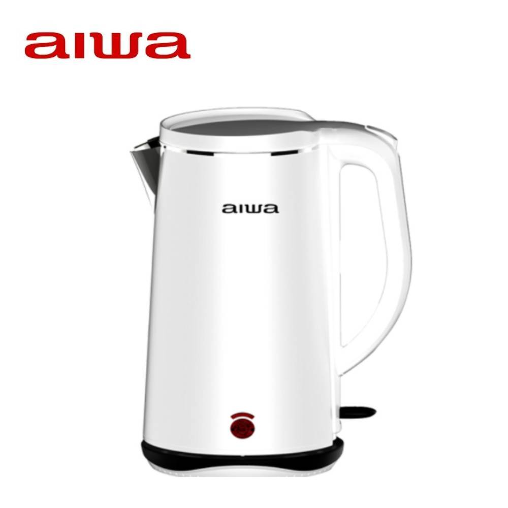 AIWA 愛華 雙層防燙快煮壺-白 DKS110518