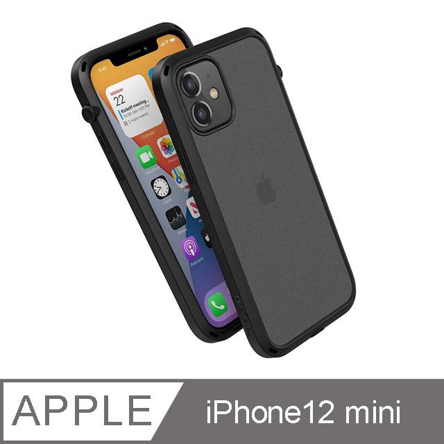 CATALYST iPhone12 mini (5.4吋) 防摔耐衝擊保護殼●霧黑
