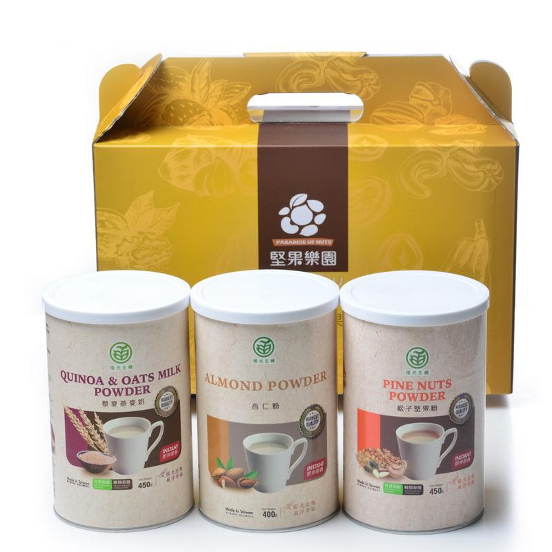 陽光生機-006養生燕麥穀粉禮盒