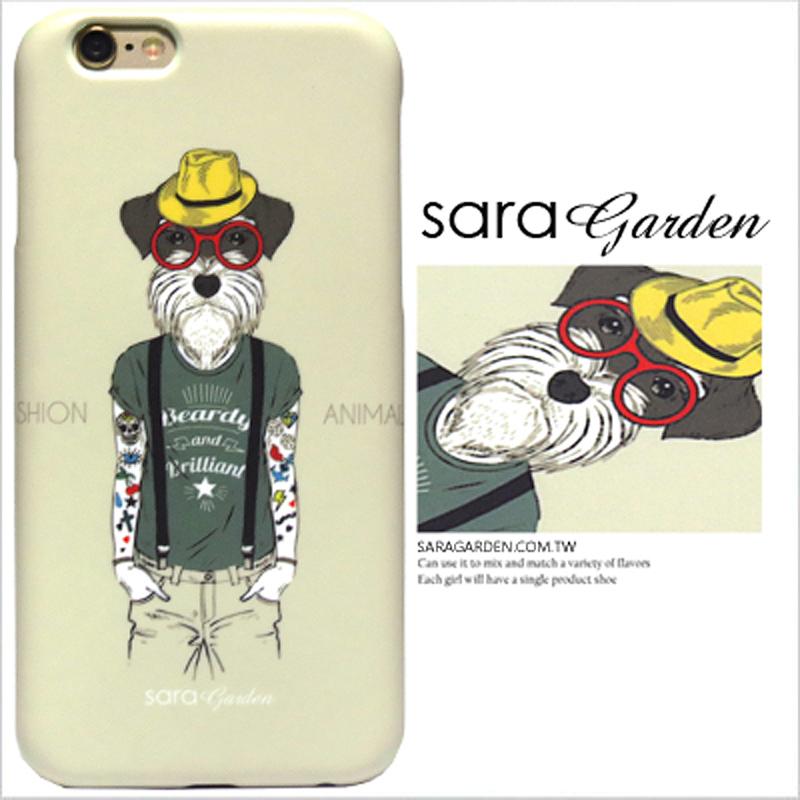 【Sara Garden】客製化 手機殼 HTC M9 潮流 刺青 雪納瑞 保護殼 硬殼 限定