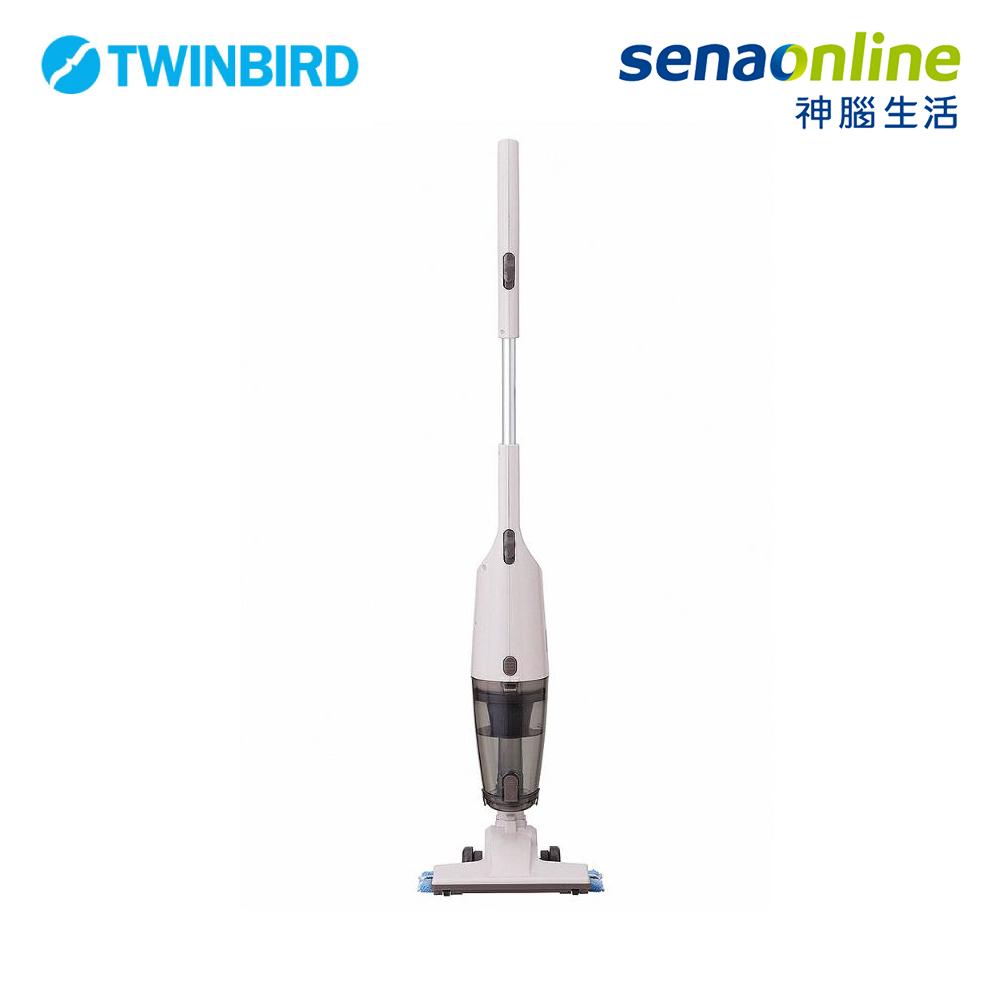 Twinbird 吸拖兩用無線吸塵器 白 TC-H107TWVO