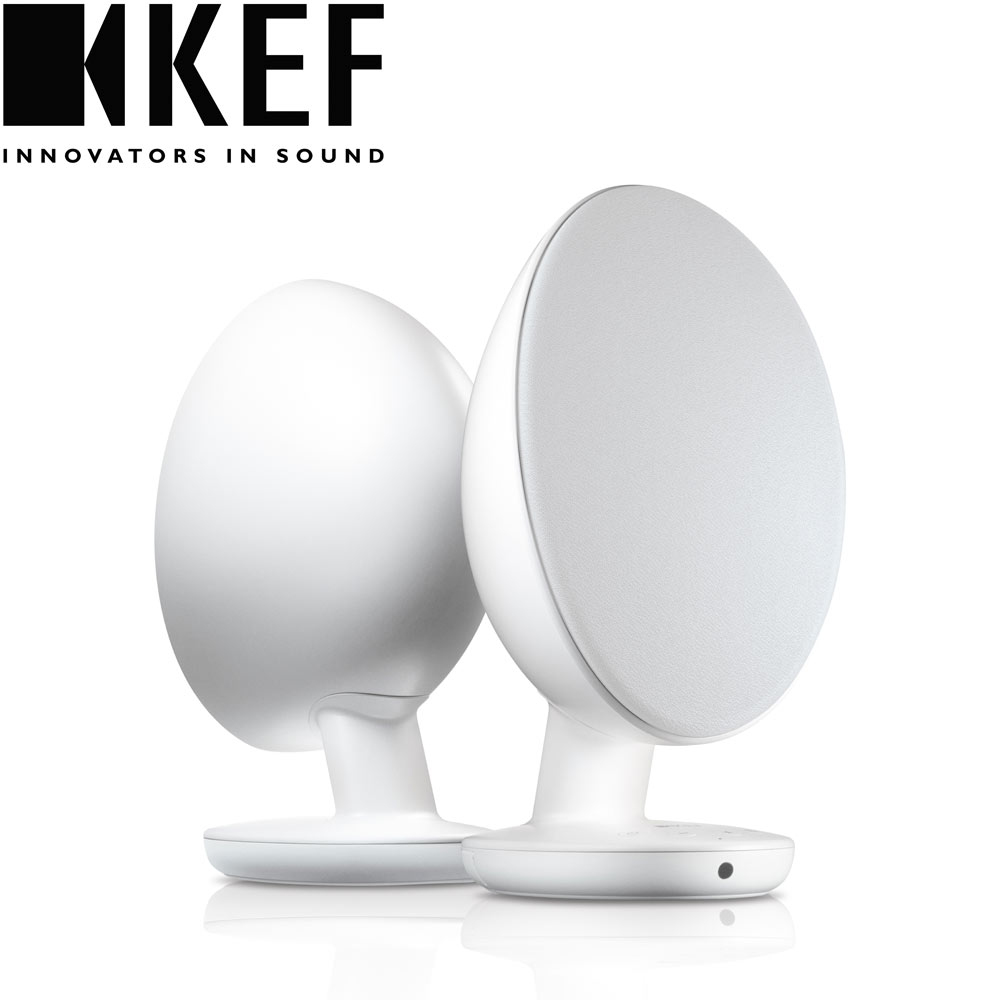 英國 KEF EGG藍牙無線喇叭 - 白色