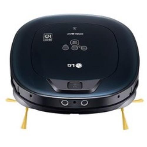 【LG樂金】WIFI遠控雙眼小精靈濕拖掃地清潔機器人(黑)VR66930VWNC