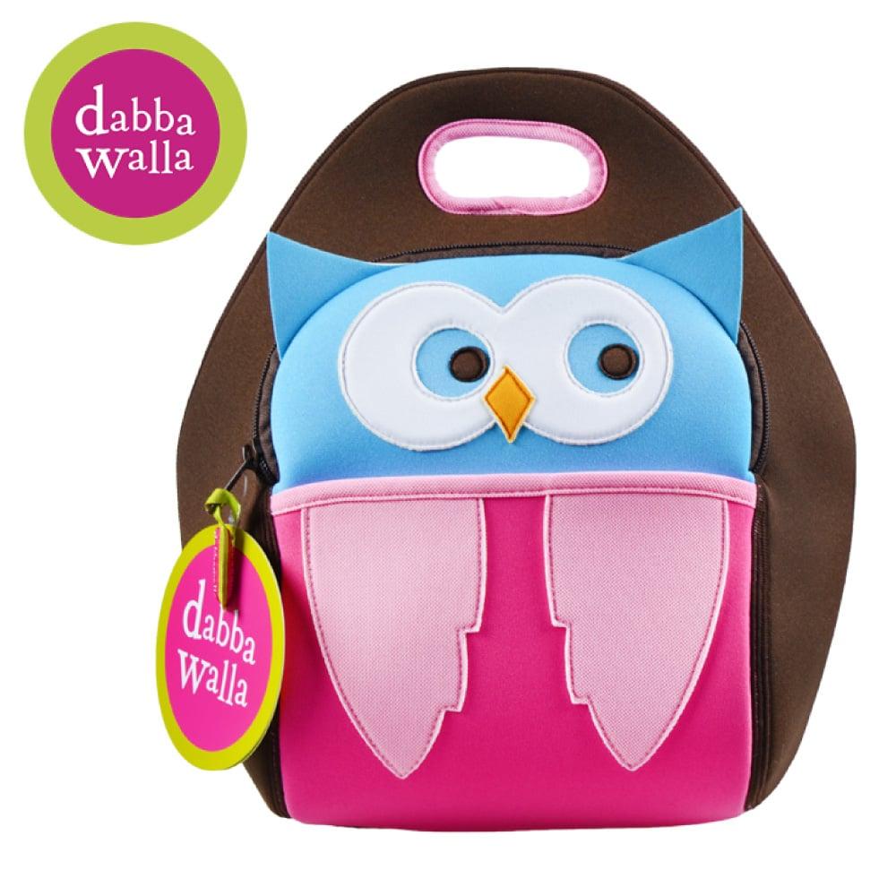 美國Dabbawalla瓦拉包 -貓頭鷹兒童手提包