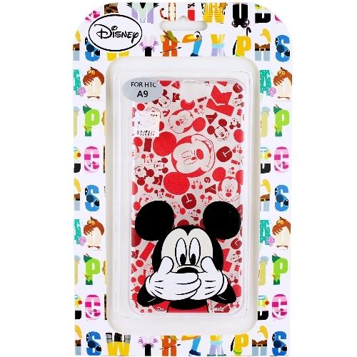 【Disney】HTC One A9 摀嘴系列 彩繪透明保護軟套(米奇)