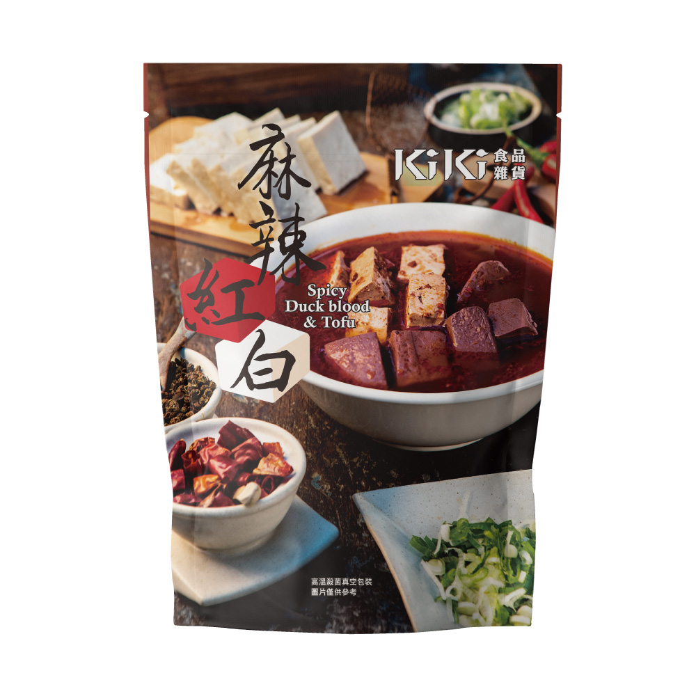 【KiKi食品雜貨】麻辣紅白x6袋(320g/袋)