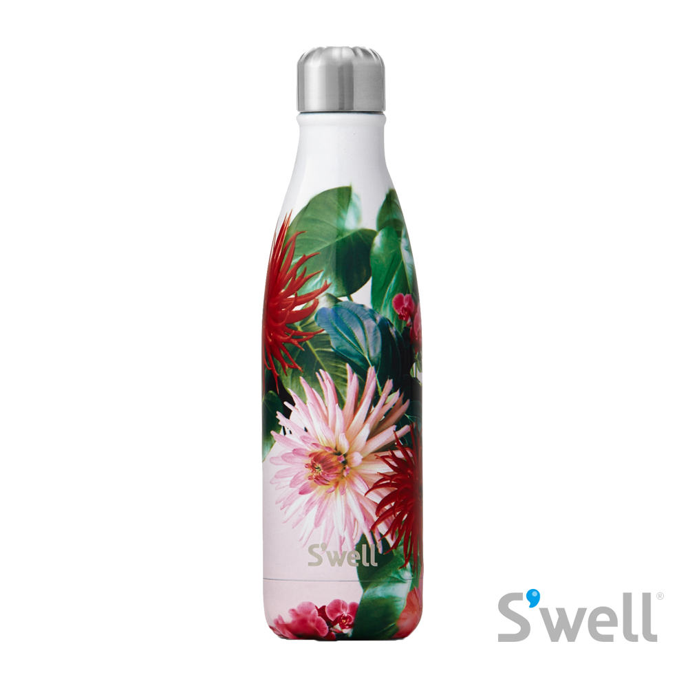 【S'well】紐約時尚不鏽鋼保冷保溫瓶-Resort系列 Retreat 17oz(500ml)