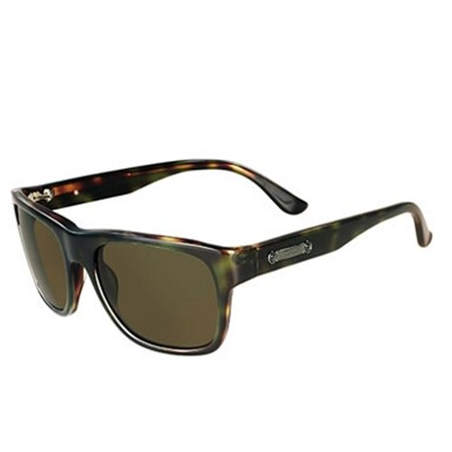 Ferragamo 豹紋 太陽眼鏡 棕綠色 616S
