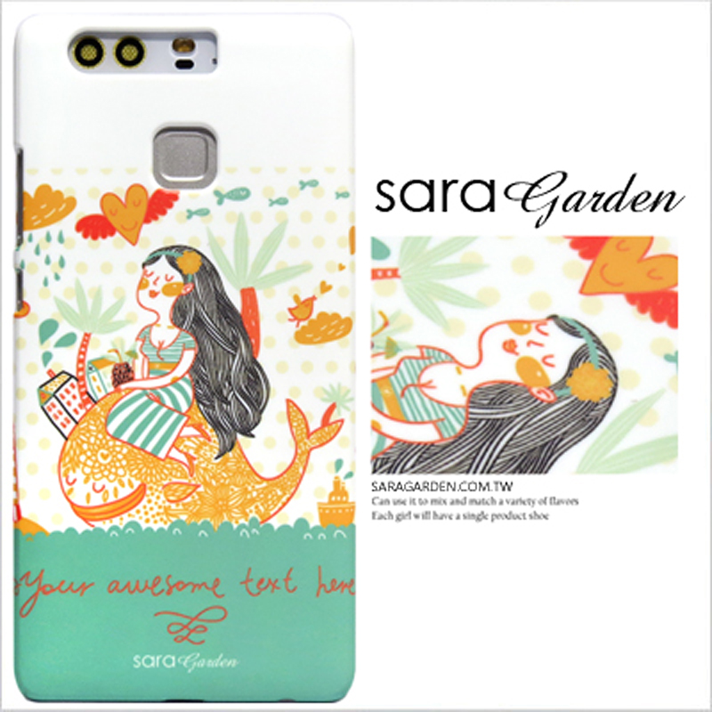 【Sara Garden】客製化 手機殼 蘋果 iPhone XS Max 鯨魚與美人 手工 保護殼 硬殼