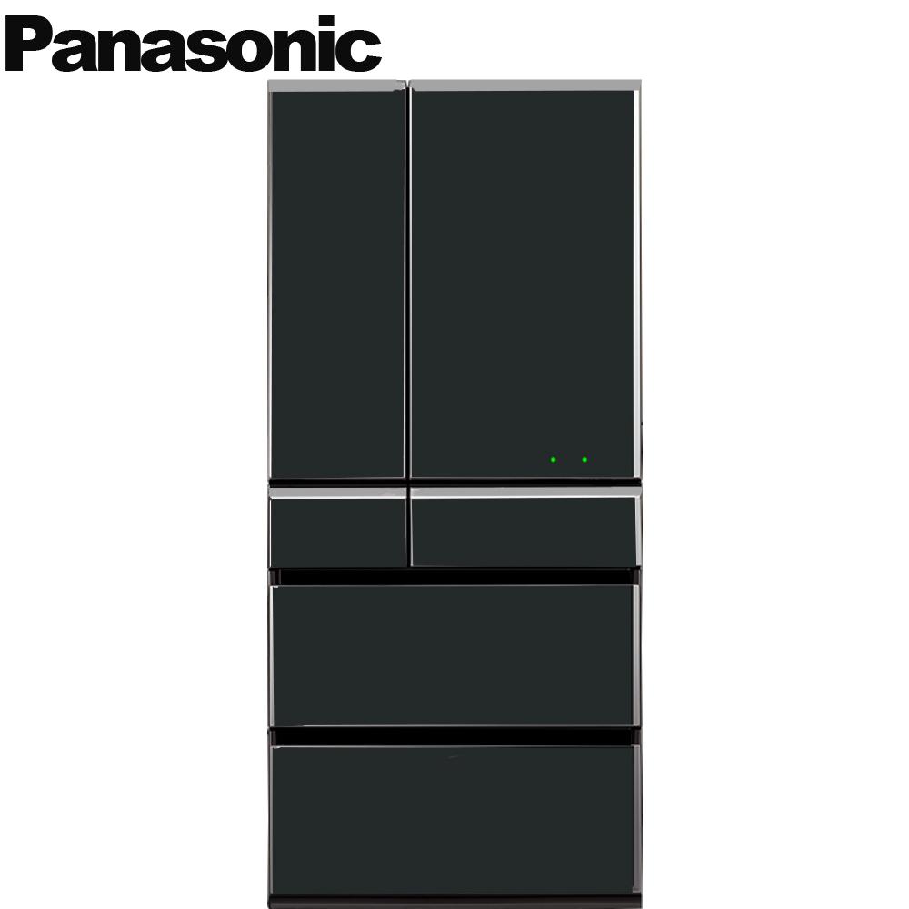 Panasonic國際牌665L日本製六門晶鑽鏡面變頻冰箱NR-F672WX-X1