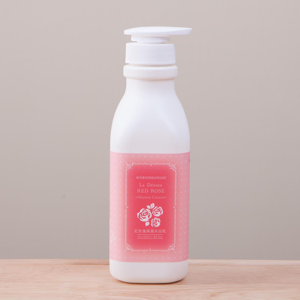 La Deesse紅玫瑰保濕沐浴乳500ml-生活工場