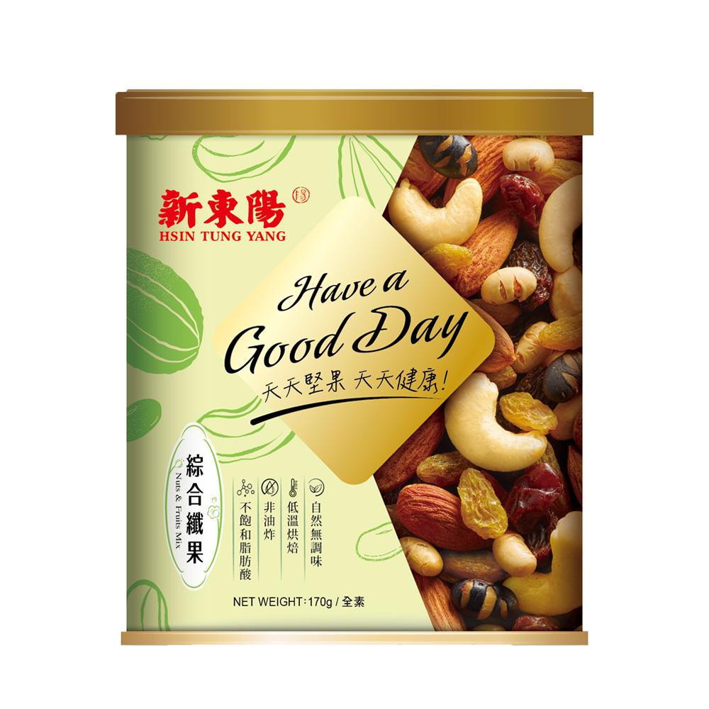 【新東陽】綜合纖果(170g*2罐)