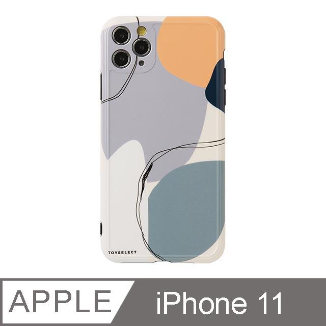 iPhone 11 6.1吋 Smilie藝術時空迴廊iPhone手機殼 藍紫夢境