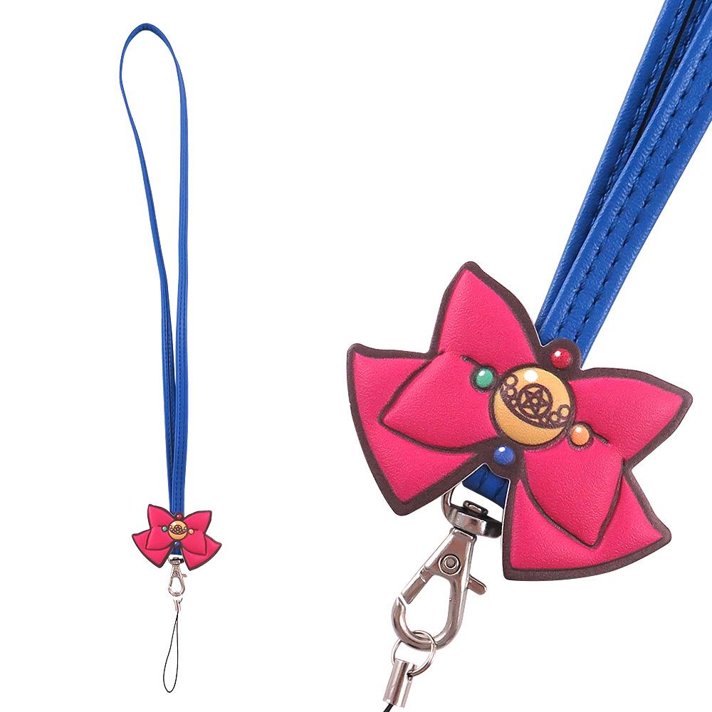 美少女戰士 經典蝴蝶結手機長吊繩/識別證帶