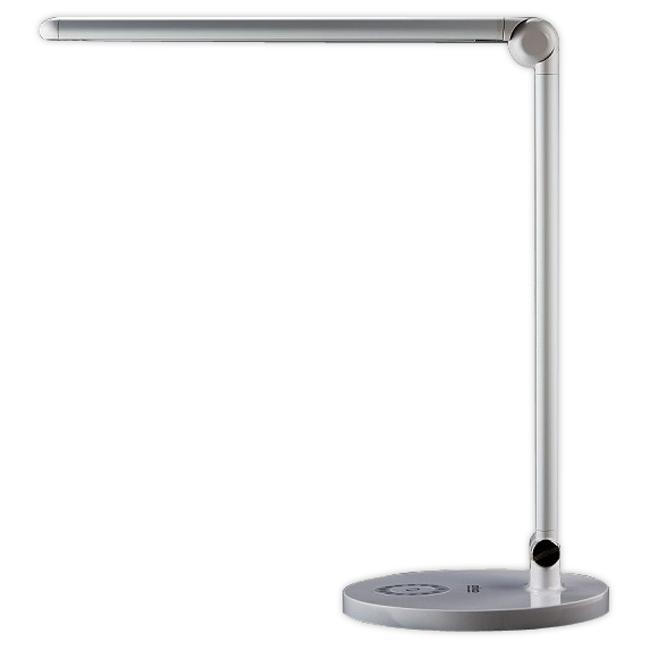 【安寶】滑軌式LED護眼檯燈(銀色) AB-7211