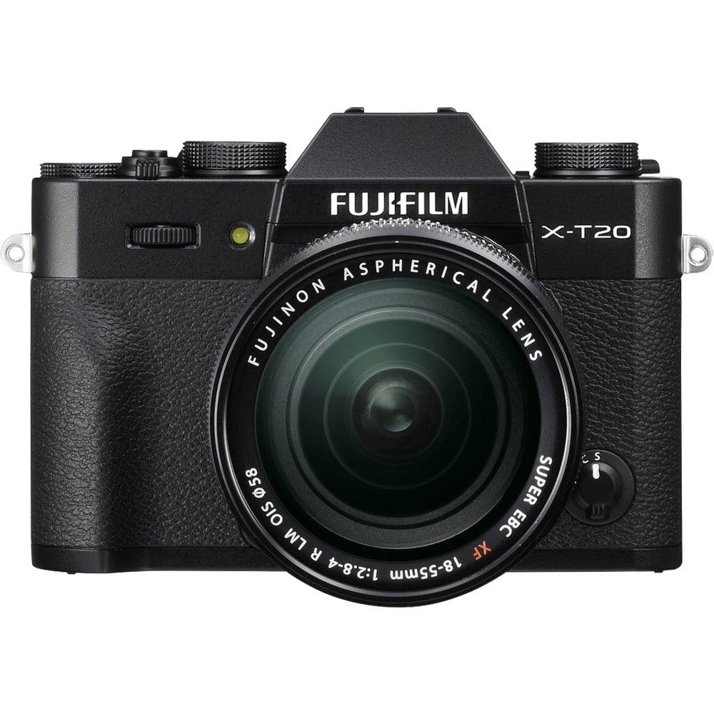 FUJIFILM X-T20 18-55mm 變焦鏡組(公司貨)_黑色