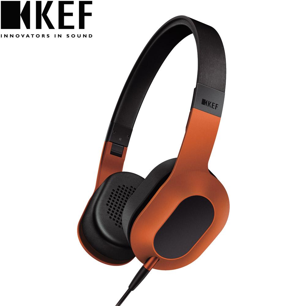 英國 KEF M400 Hi-Fi 耳罩式耳機-日落橙