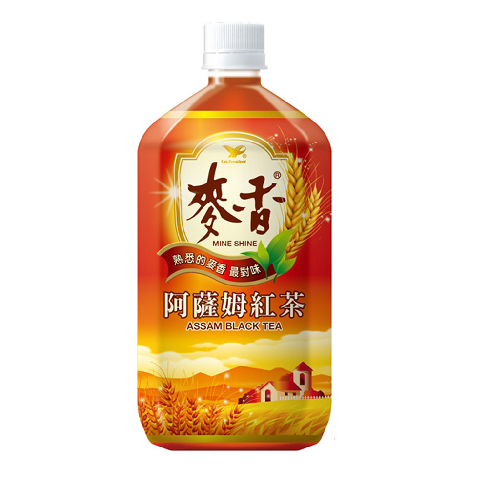 麥香-阿薩姆紅茶975mlx12入/箱