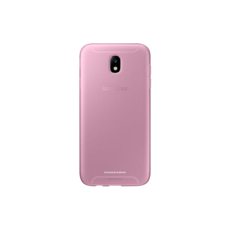 SAMSUNG Galaxy J7 Pro薄型透明背蓋TPU 粉色