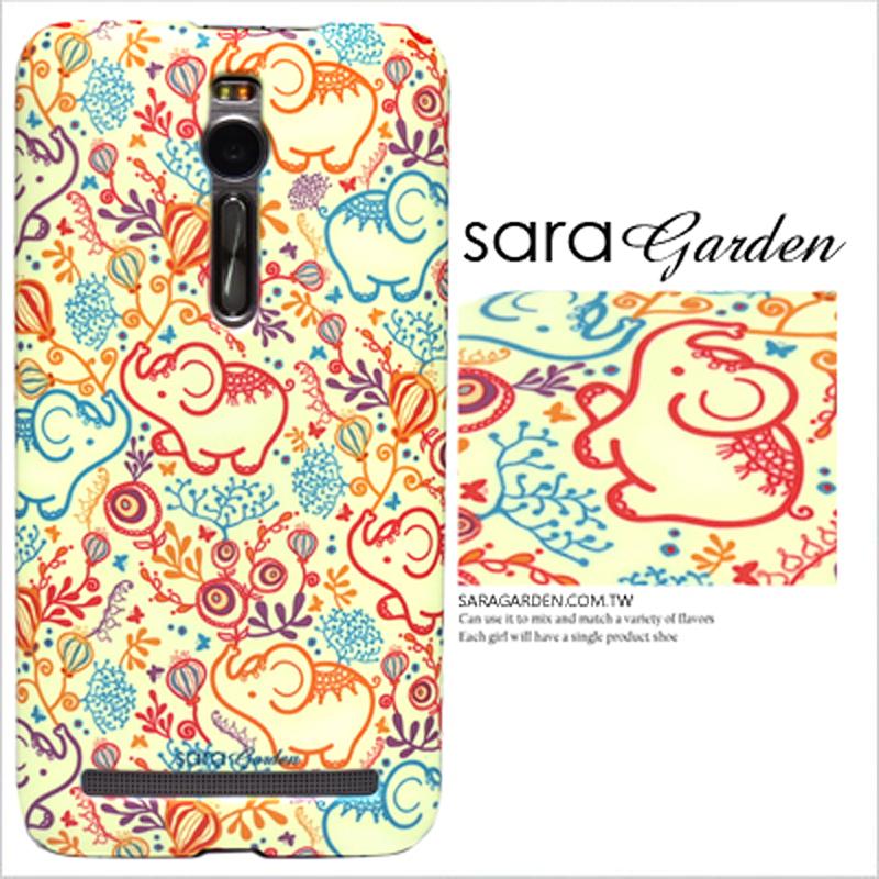 【Sara Garden】客製化 手機殼 Samsung 三星 J7 2016 南洋 碎花 大象 保護殼 硬殼