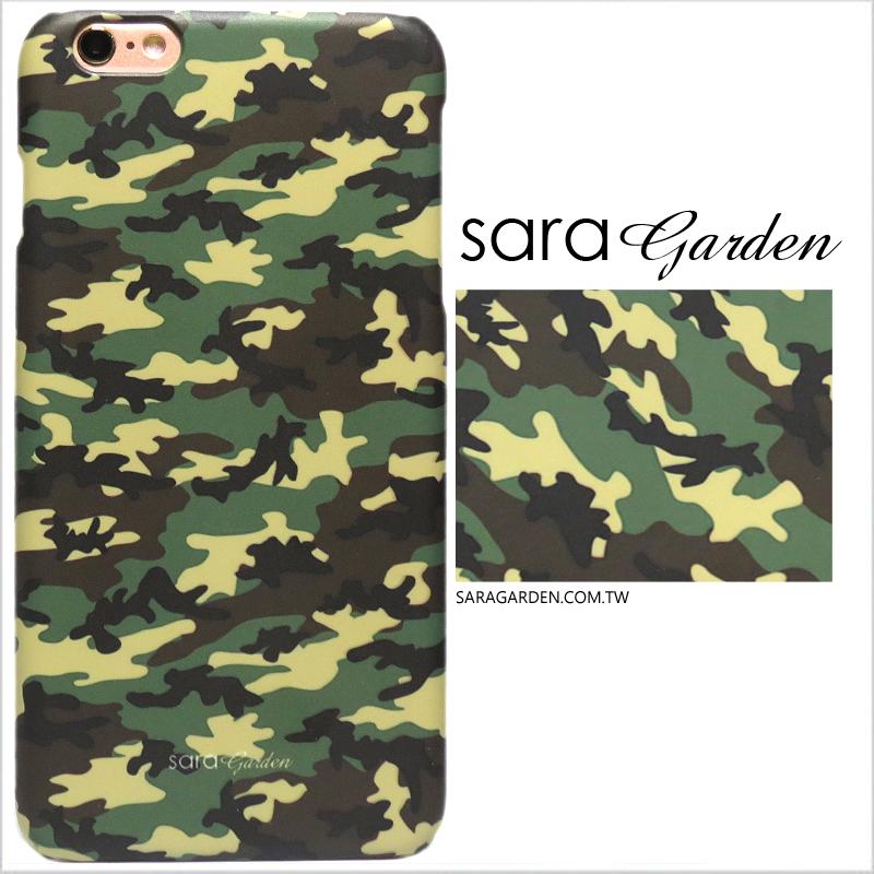 【Sara Garden】客製化 手機殼 蘋果 iPhone 6plus 6SPlus i6+ i6s+ 迷彩 個性 海陸 硬殼 限定