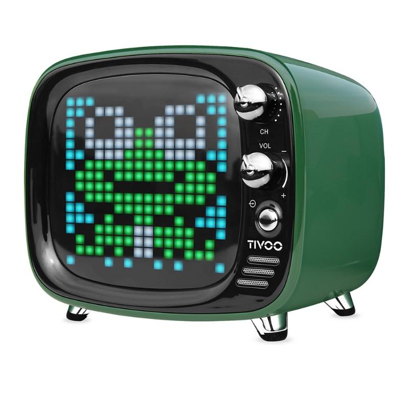 Divoom Tivoo 智慧復古電視藍牙喇叭-綠色