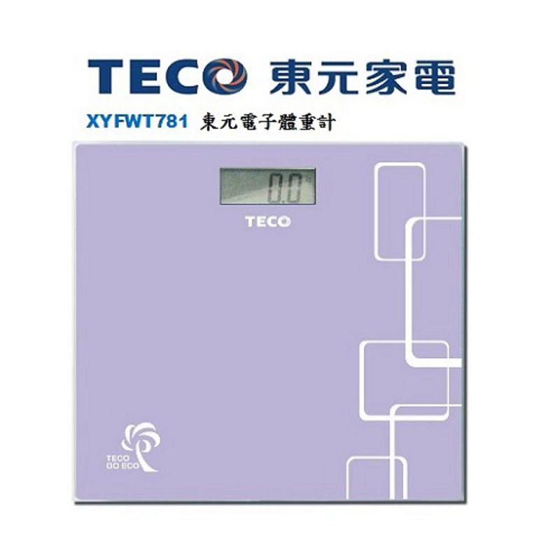 東元TECO 電子體重計 XYFWT781