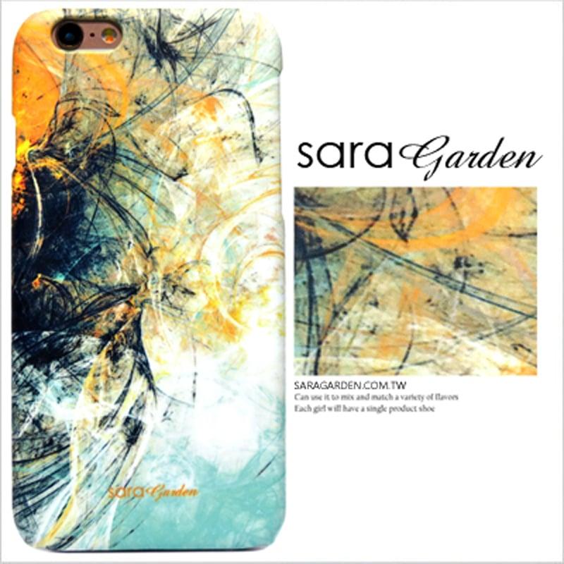 【Sara Garden】客製化 手機殼 ASUS 華碩 Zenfone4 Max 5.5吋 ZC554KL 潑墨 渲染 水彩 黃藍 保護殼 硬殼