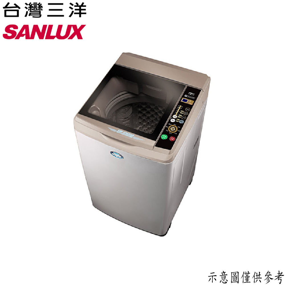 【SANLUX台灣三洋】12KG 定頻直立式洗衣機 SW-12AS6A