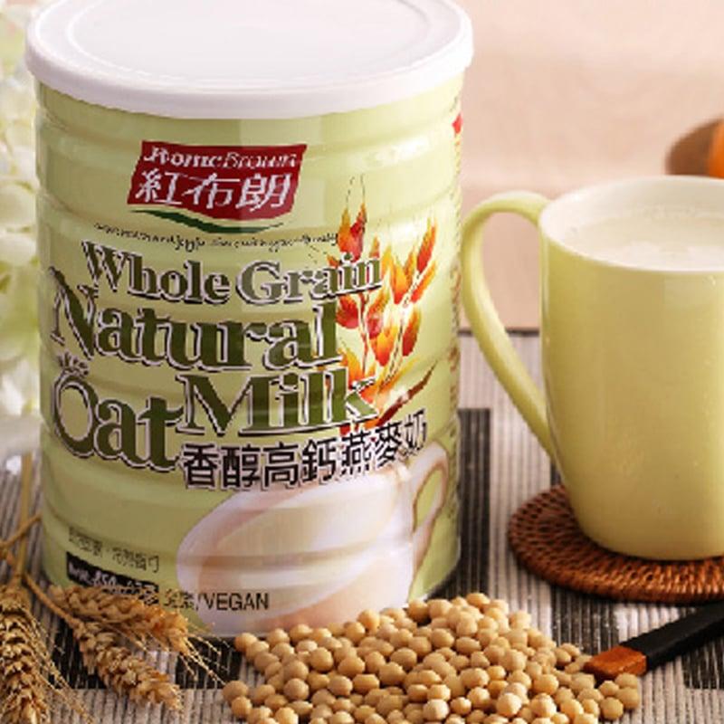 【紅布朗】香醇高鈣燕麥奶 850gX2罐