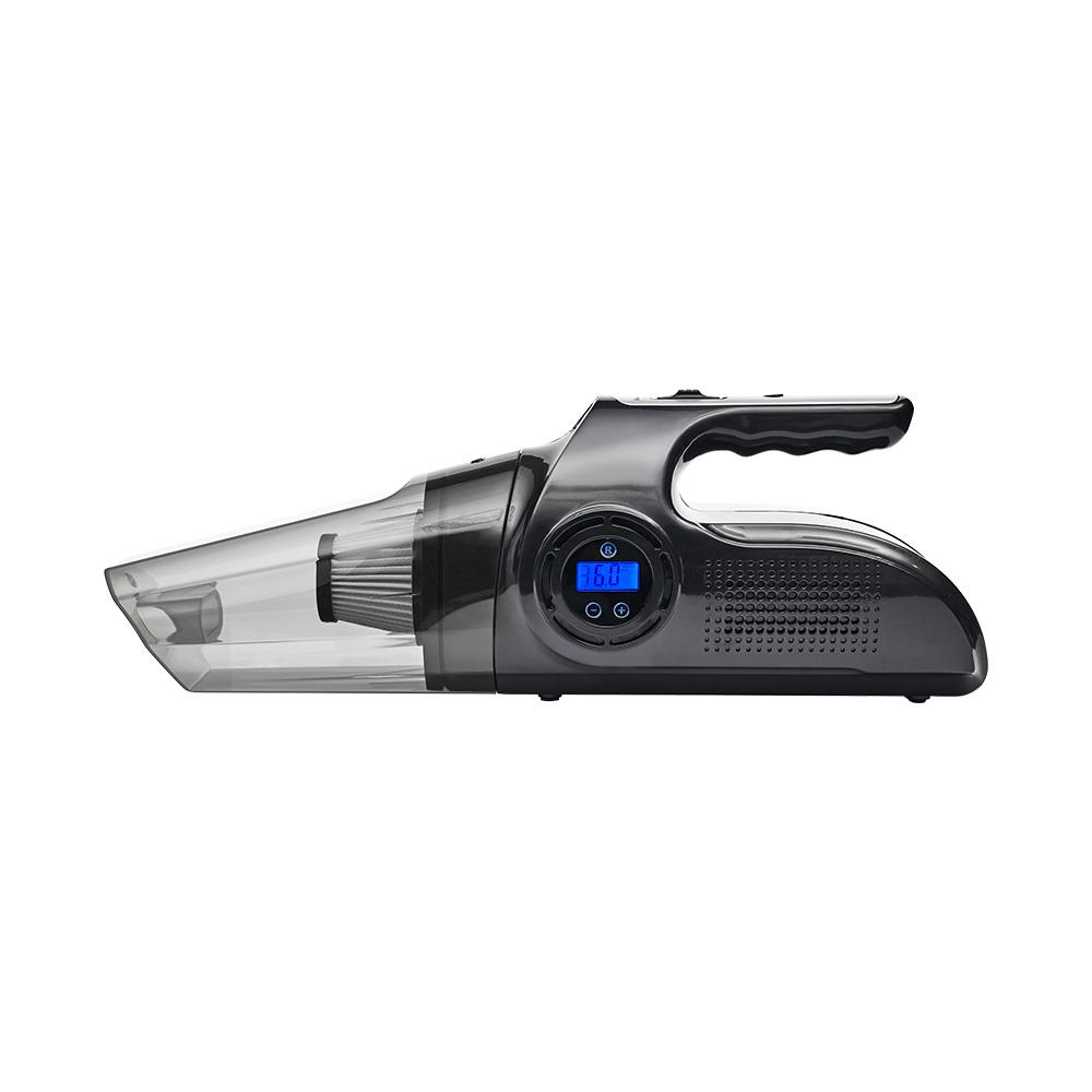 【安伯特】核爆VI2四合一無線吸塵打氣機 (USB充電 車用吸塵器 無線吸塵器 車用打氣機 檢測胎壓 緊急照明 乾濕兩用)