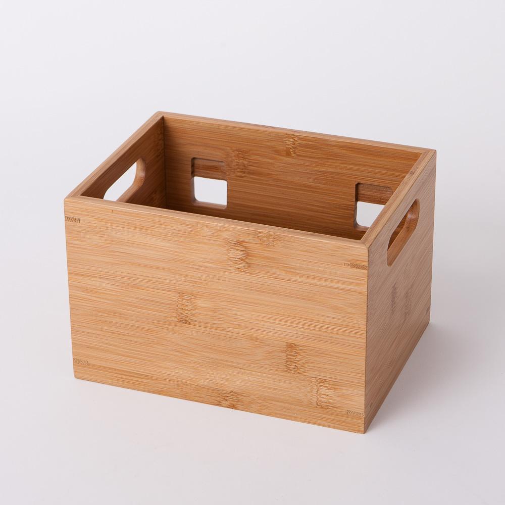 竹意壁掛型萬用收納盒(小)-生活工場