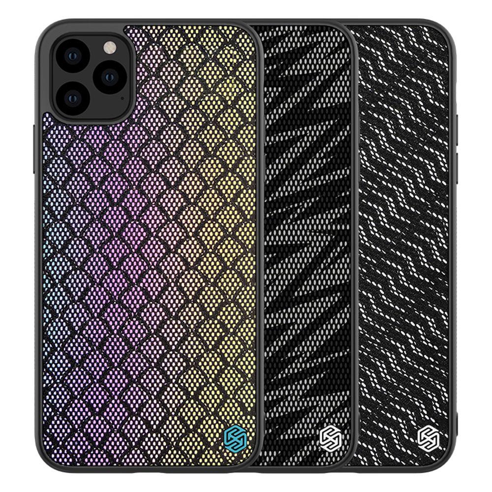 NILLKIN Apple iPhone 11 Pro Max 光彩漸變反光殼(霹靂黑)