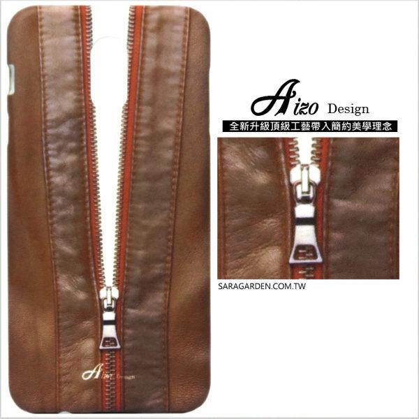 【AIZO】客製化 手機殼 Samsung 三星 J7Plus j7+ 保護殼 硬殼 高清皮革拉鍊夾克