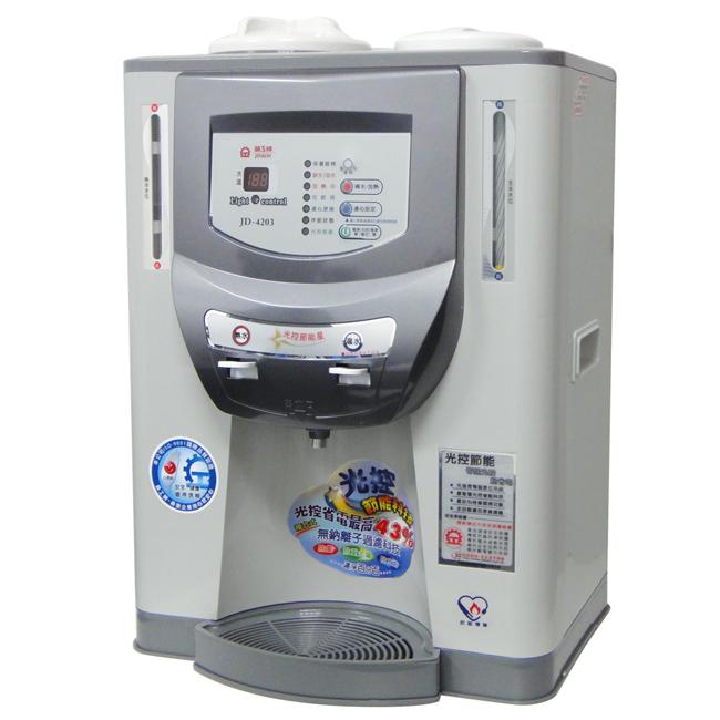 【晶工牌】光控智慧溫熱全自動開飲機 JD-4203