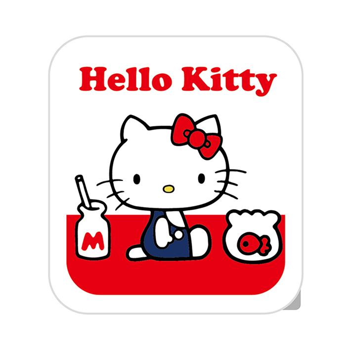 【正版授權】HELLO KITTY 3.4A 雙孔USB 旋轉充電頭-紅