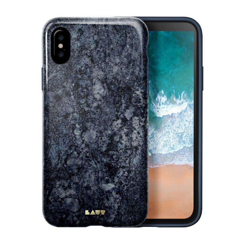 LAUT  經典大理石系列iPhoneX 藍