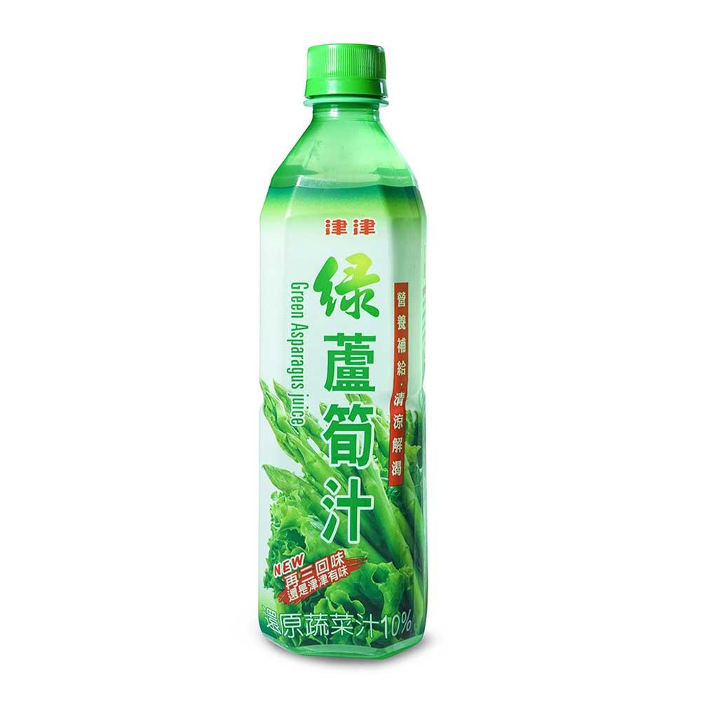 【津津】綠蘆筍汁 600gX24瓶/箱