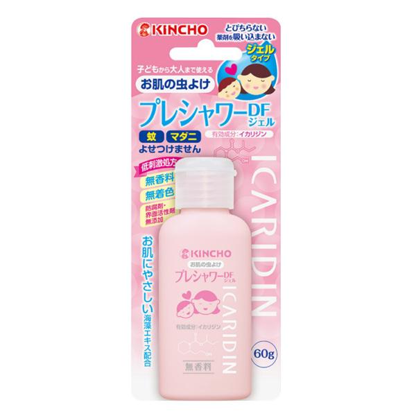 日本金鳥 KINCHO 防蚊凝膠-派卡瑞丁60ml