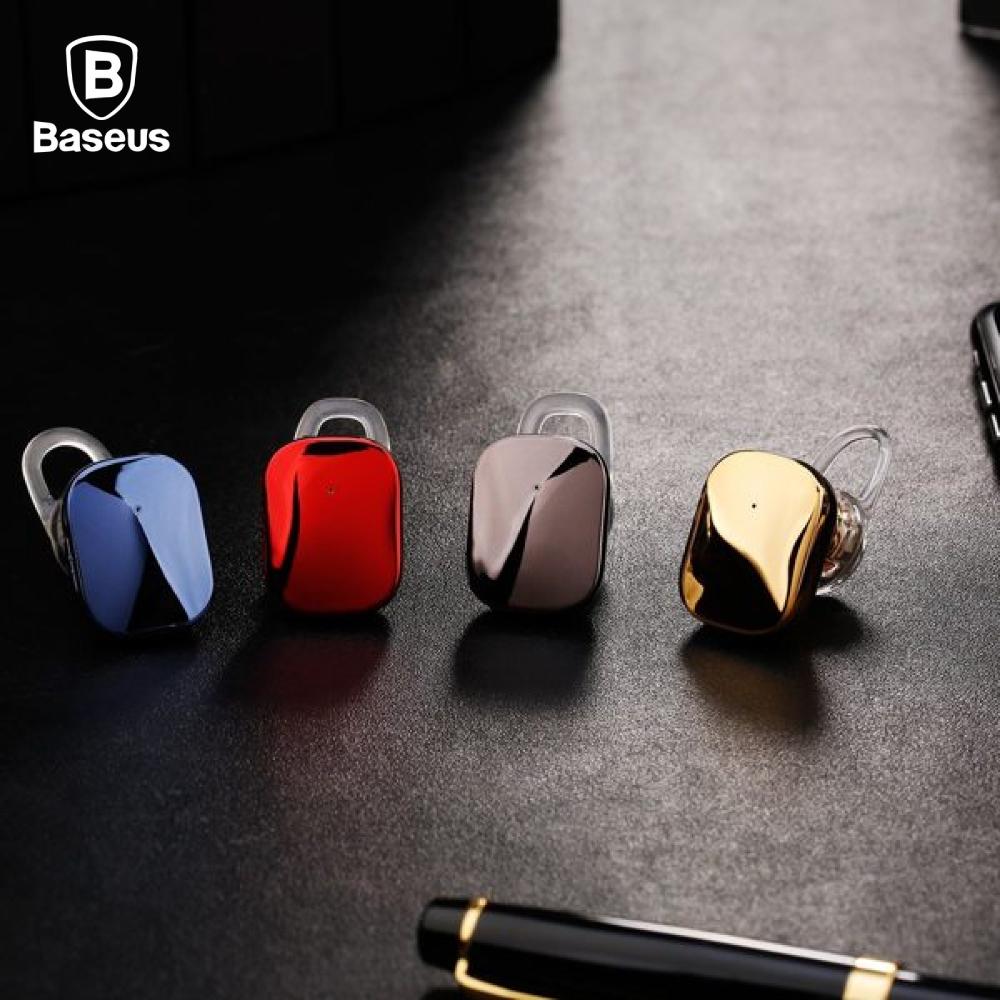 Baseus 倍思 A02 單邊藍芽耳機 - 亮銀色