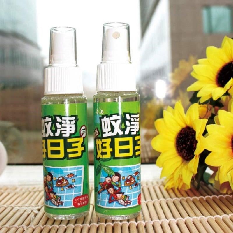 【蚊淨好日子】植萃精油防蚊液隨身瓶(60ml/瓶)*5瓶