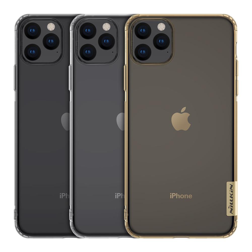 NILLKIN Apple iPhone 11 Pro Max 本色TPU軟套(透金)