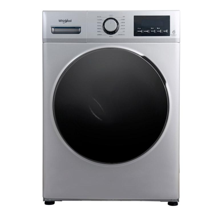 【Whirlpool 惠而浦】10公斤Essential Clean溫水洗脫烘變頻滾筒洗衣機 WEHC10BBS
