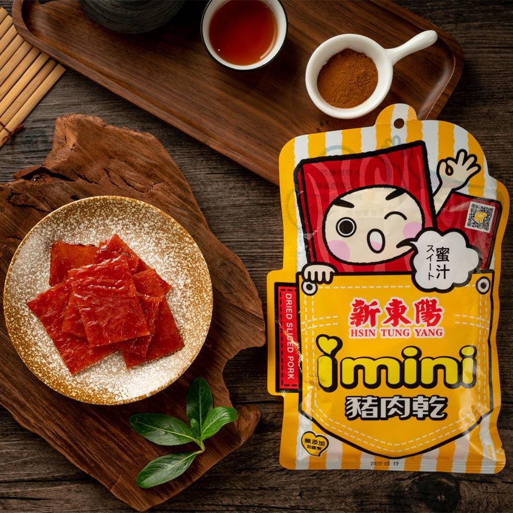 【新東陽】I-mini蜜汁豬肉乾 (105g*5包)