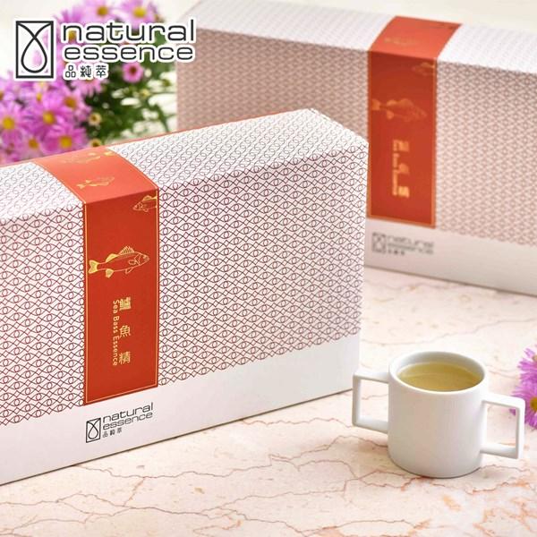 預購《品純萃》鱸魚精(15入+雙耳杯/盒)