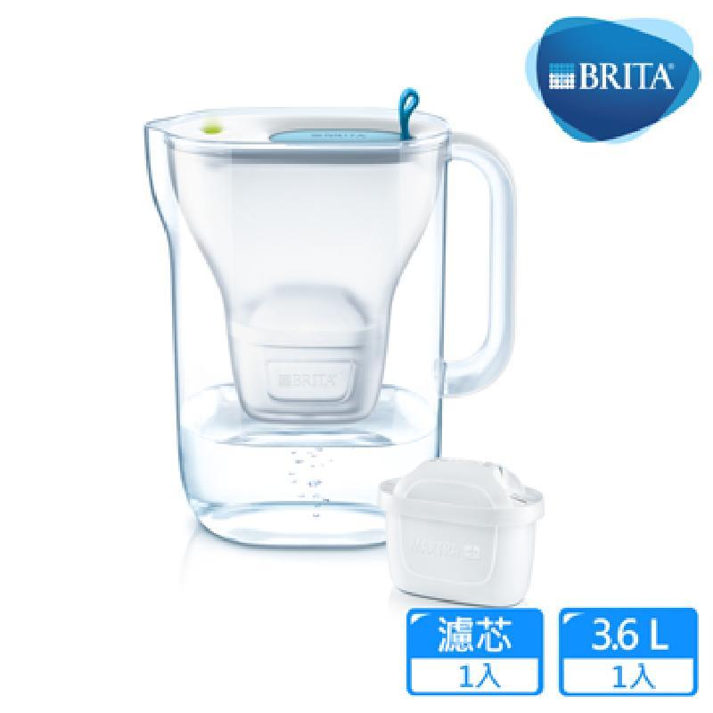 濾水壺/BRITA 純淨濾水壺 藍色