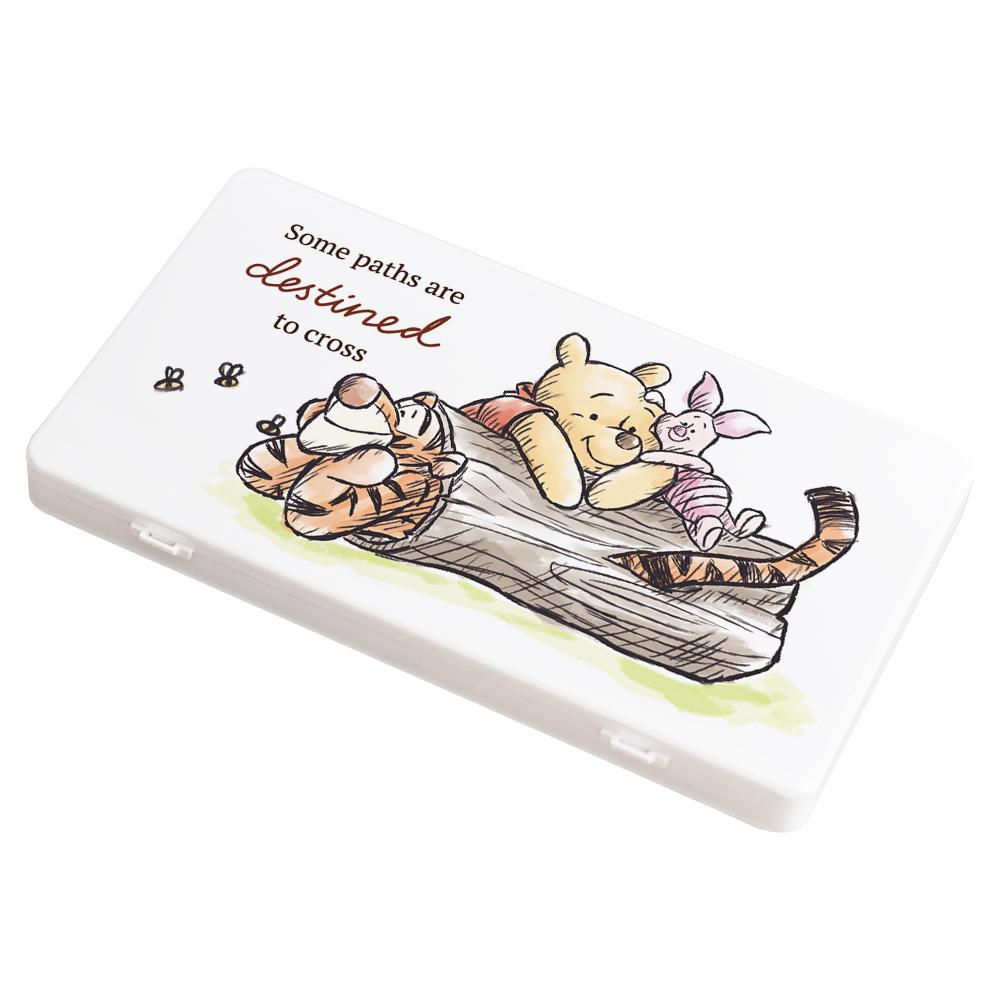 【收納王妃】迪士尼 (木頭維尼)-小熊維尼系列防疫必備口罩盒/零錢盒/收納盒/文具盒