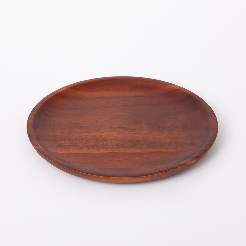 木質宣言洋槐餐盤16cm-生活工場